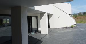 Courtyard to Kitchen
