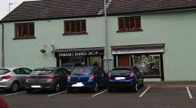 New Shop Front to Units, Facing New Car Park, off New Street, Randalstown