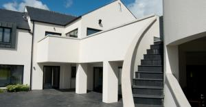 External Curved Stair