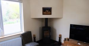 Stove in new living area