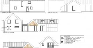 New dwelling and garage designs